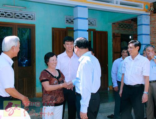 Phó Thủ Tướng thăm Trại Gà Kiều Hoa 2