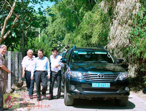 Phó Thủ Tướng thăm Trại Gà Kiều Hoa 1