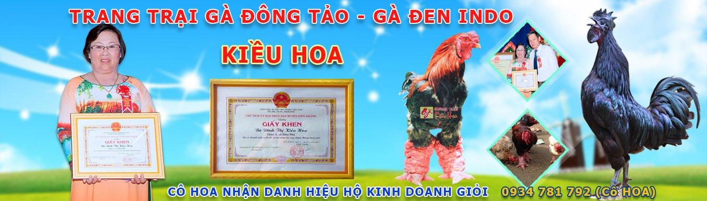 Trại Gà Đông Tảo Kiều Hoa Nhận danh hiệu hộ kinh doanh giỏi